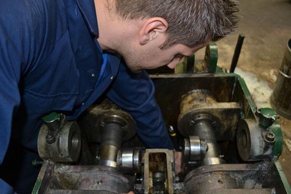 Etchells machine maintenance