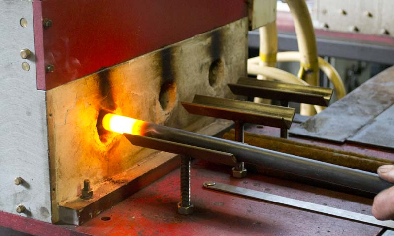 induction heating at smith bullough