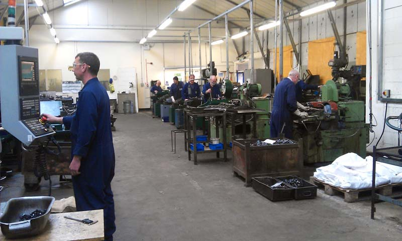 smith bullough machine shop